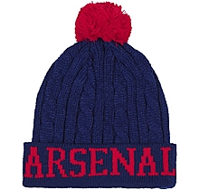 Arsenal Cable Knit Text Beanie