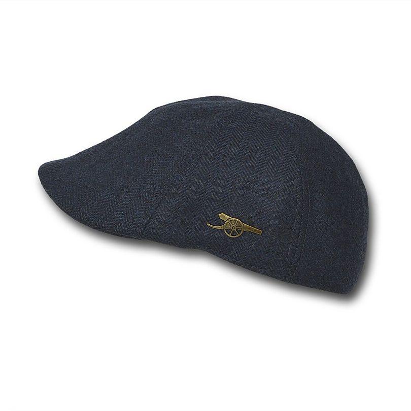 Arsenal Herringbone Duckbill Cap  e5c2eae5cb8