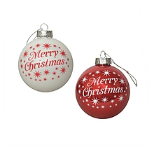 Arsenal 2 Pack of Christmas Baubles