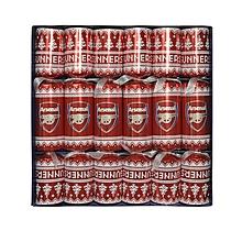 Arsenal 6pk Nordic Christmas Crackers