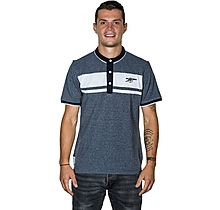 Arsenal Stripe Cannon Polo Shirt