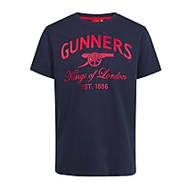 Arsenal Kids Gunners T-Shirt (2-13yrs)