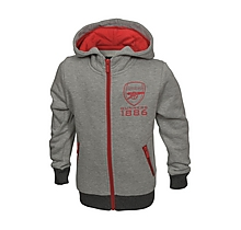 Arsenal Kids Zip Hoody (2-7yrs)