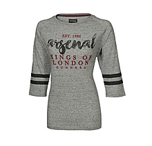 Arsenal Kings of London Ladies 3/4 Sleeve T-Shirt