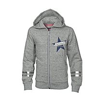 Arsenal Girls Star Zip Hoody