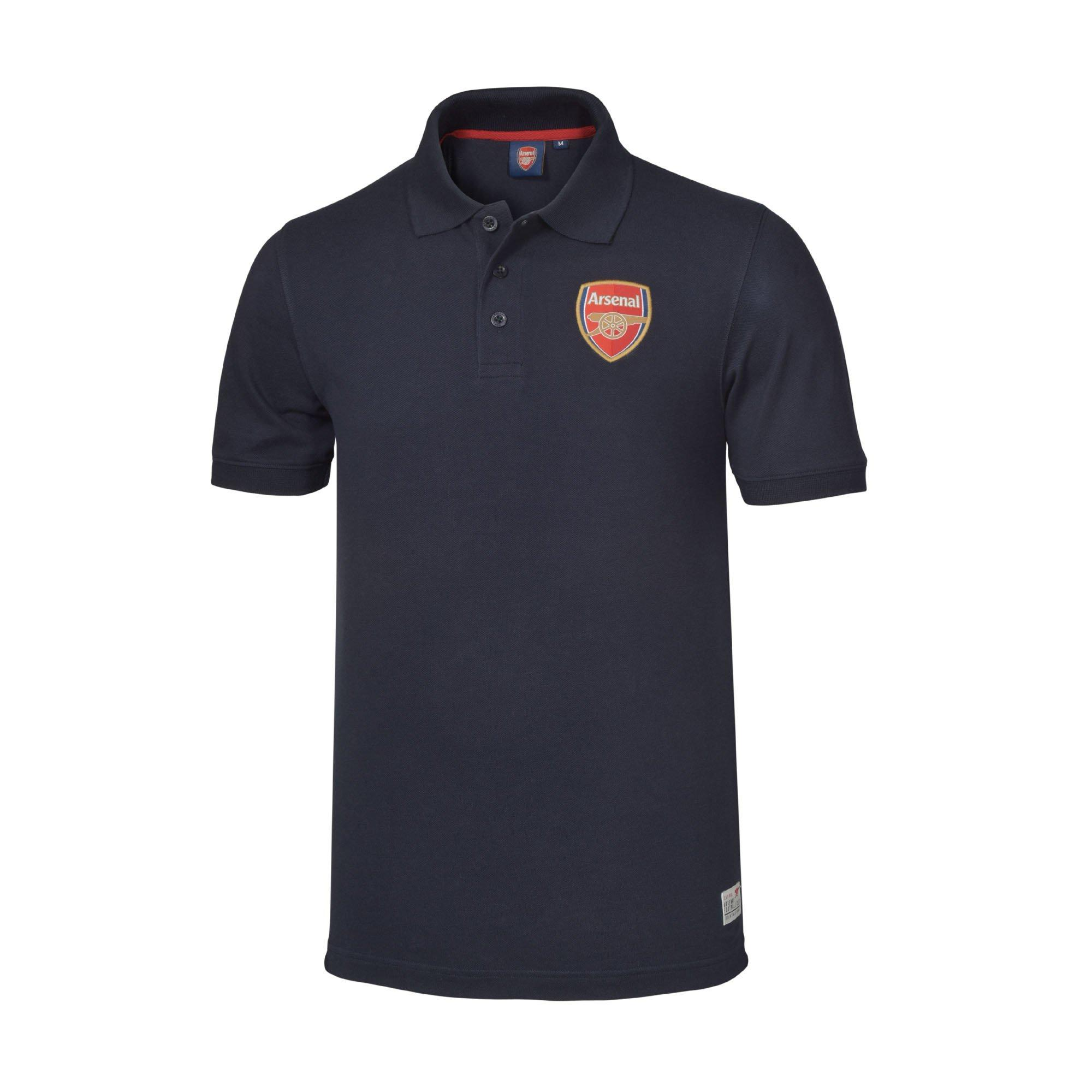 Add to basket. QuickView � Arsenal Mens Crest Polo Shirt