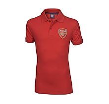 Arsenal Infant Red Crest Polo Shirt