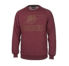 Arsenal Rubber Print Cannon Sweat