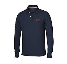 Arsenal 1886 Long Sleeve Polo Shirt