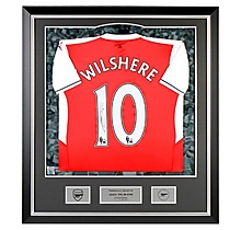 16/17 Wilshere Framed Signed Shirt