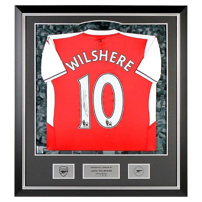16/17 Wilshere Framed Signed Shirt