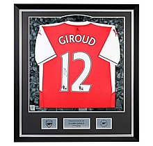 16/17 Giroud Framed Signed Shirt