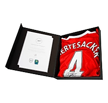 16/17 Mertesacker Boxed Signed Shirt