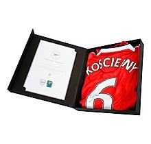 16/17 Koscielny Boxed Signed Shirt