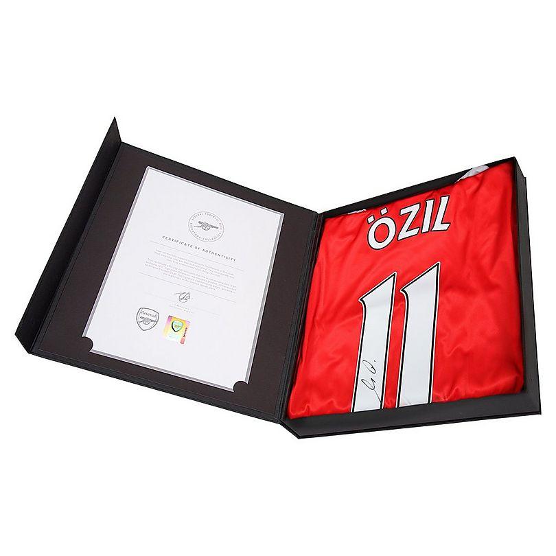 16/17 Ozil Boxed Signed Shirt