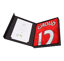 16/17 Giroud Boxed Signed Shirt