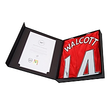 16/17 Walcott Boxed Signed Shirt