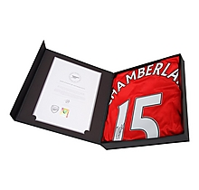 16/17 Chamberlain Boxed Signed Shirt