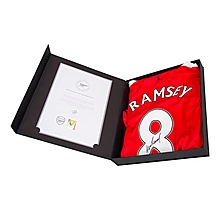 16/17 Ramsey Boxed Signed Shirt