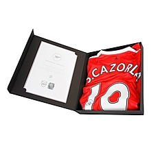16/17 Cazorla Boxed Signed Shirt