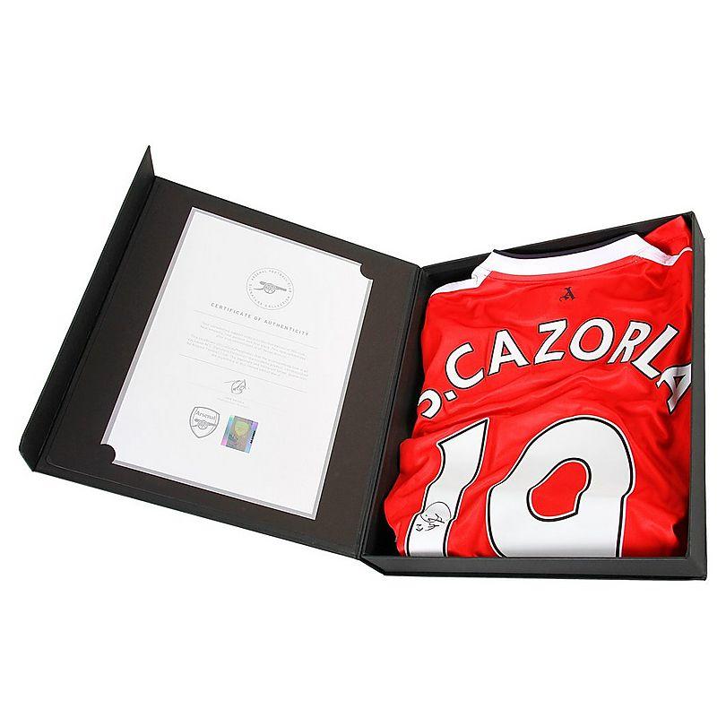 16/17 Cazorla Boxed Signed Shirt
