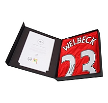 16/17 Welbeck Boxed Signed Shirt