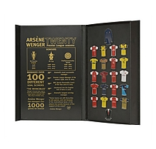 Arsène Wenger 20 Years Limited Edition Pin badge Set