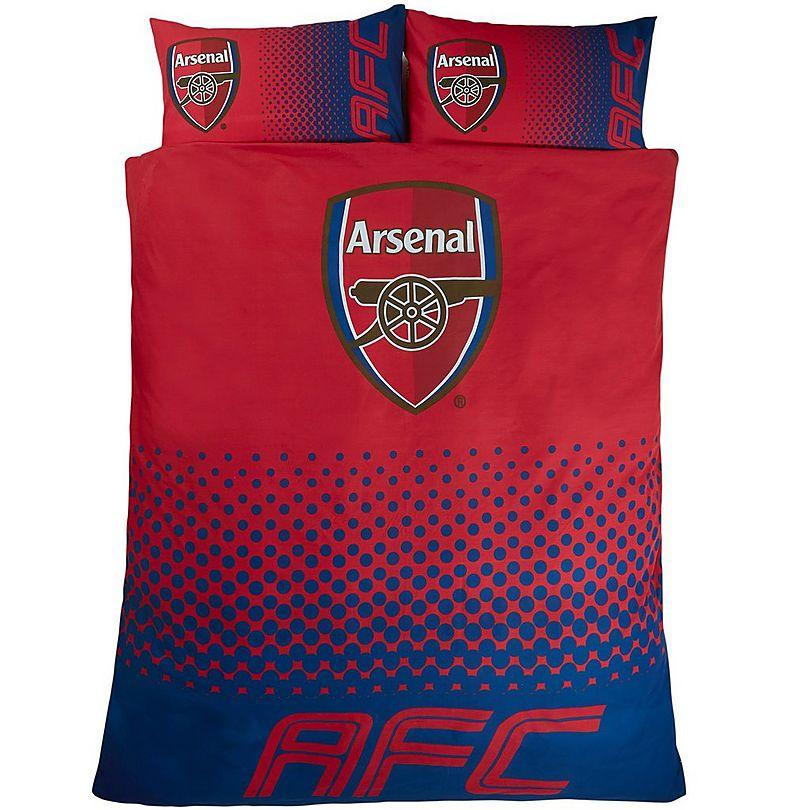 Sports Direct Arsenal Towel: Arsenal Fade Double Duvet Set