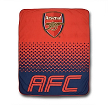 Arsenal Fade Fleece Blanket