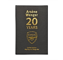 Arsène Wenger Keyring & Badge Set