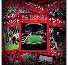 Arsenal UK Programme Subscription 2020/21 Season