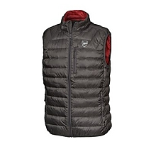 Arsenal Ultra Light Down Black Gilet