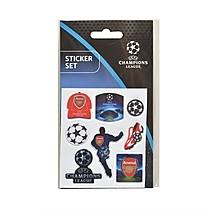 Arsenal 16-17 Champions League Stickers