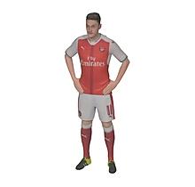 Mesut Özil - 16-17 Home 1:10 3D Figurine