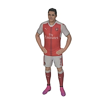 Alexis Sanchez - 16-17 Home 1:10 3D Figurine
