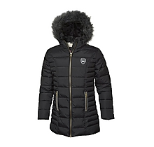 Arsenal Girls Sherpa Lined Jacket