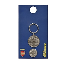 Kings of London Keyring and Badge Set