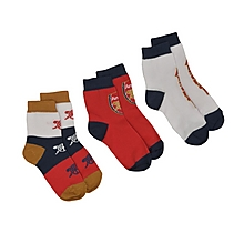 Arsenal Essentials 3pk Kids Socks