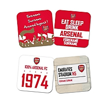 Personalised Assorted Coaster Set of 4