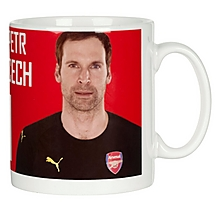 Arsenal Personalised Cech Autograph Mug