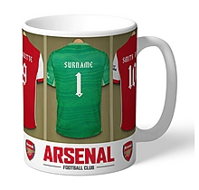 Arsenal Personalised Goalkeeper Dressing Room Mug