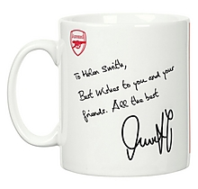 Arsenal Personalised Özil Autograph Mug
