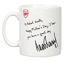 Arsenal Personalised Ramsey Autograph Mug