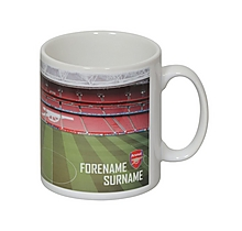 Arsenal Personalised Stadium Mug