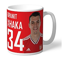 Arsenal Personalised Xhaka Autograph Mug