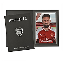 Personalised Giroud Signature Photo Folder