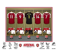 Arsenal Personalised Goalkeeper Dressing Room Photo Folder