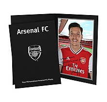 Arsenal Personalised Özil Signature Photo Folder