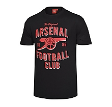 Arsenal Vintage Black T-Shirt