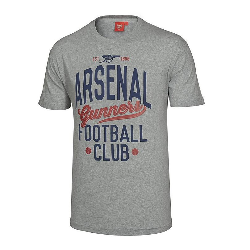 f59566117 Arsenal Vintage Grey T-Shirt